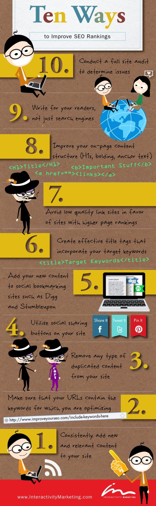 10 Simple Tips for SEO